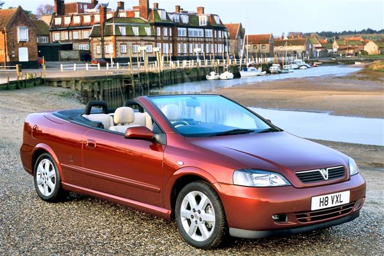 New Vauxhall Astra Convertible (2001 - 2006) review