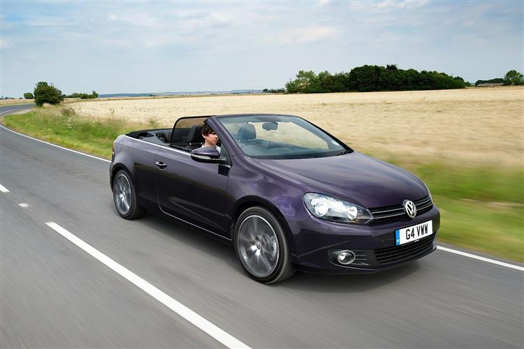 New Volkswagen Golf Cabriolet (2013 - 2016) review