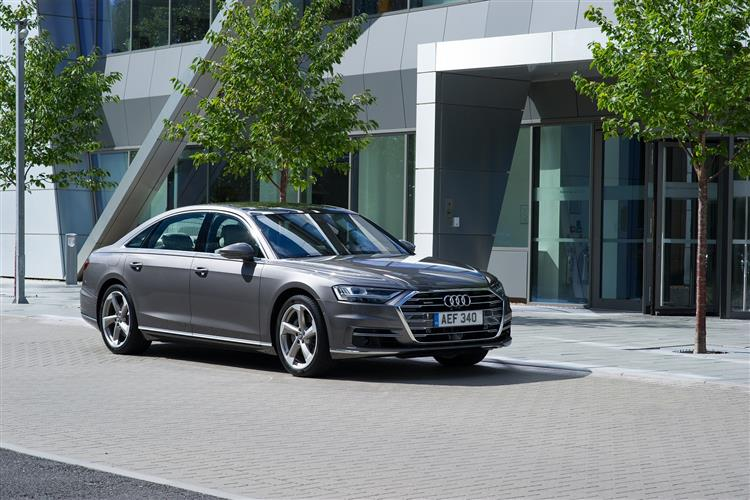 Audi A8 L 55 TFSI Quattro S Line 4dr Tiptronic [C+S]