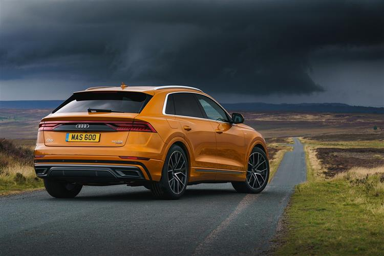 Audi Q8 50 Tdi Quattro Vorsprung 5dr Tiptronic Leasing Deals Plan