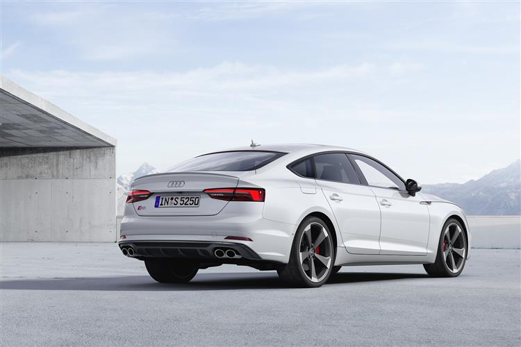 New Audi S5 Sportback review