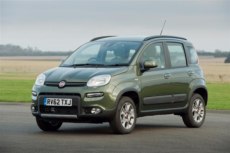 Used 2013 63 Fiat Panda 13 Multijet 4x4 5dr In Dundee Arnold Clark