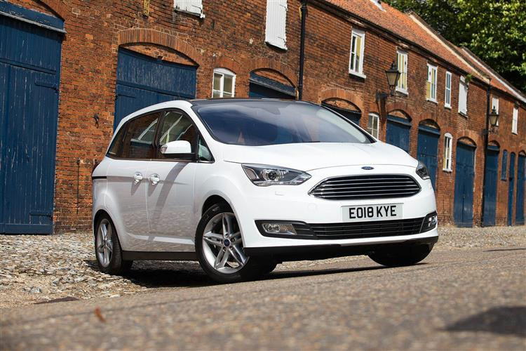 Ford GRAND C-MAX 1.0 EcoBoost 125 Zetec 5dr