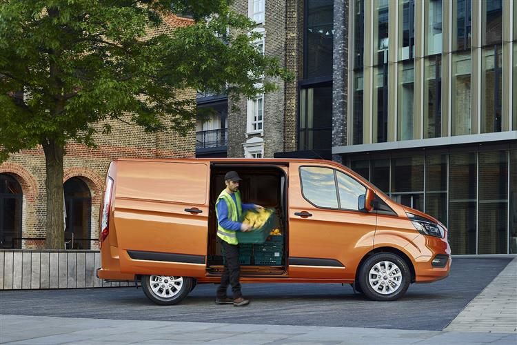 ford transit custom van leasing deals leaseplan. Black Bedroom Furniture Sets. Home Design Ideas