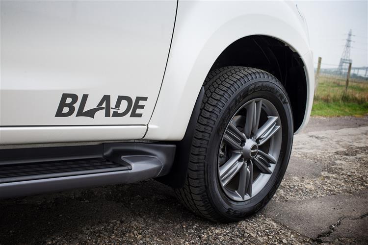 Isuzu D-MAX 1.9 Blade Double Cab 4x4 Auto