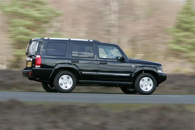 New Jeep Commander (2006 - 2009) review