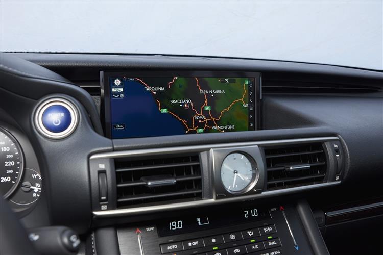 Lexus IS 300h 4dr CVT Auto [Sport Pack]