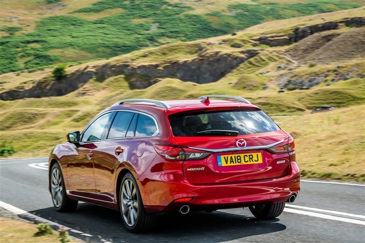 Mazda 6 2.2d Sport Nav+ 5dr [Safety Pack]