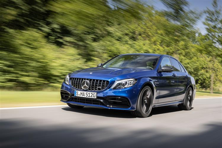 New Mercedes-AMG C 63 review