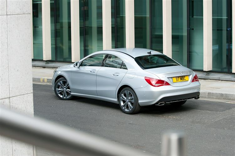MERCEDES-BENZ CLA CLASS DIESEL COUPE