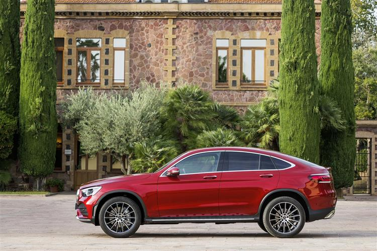 New Mercedes-Benz GLC Coupe review