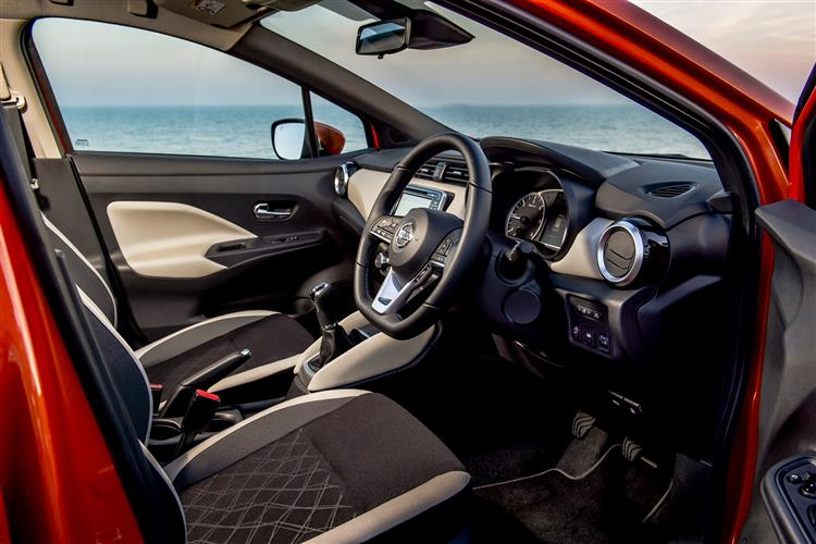Nissan MICRA 1.0 IG-T 100 Tekna 5dr Xtronic [Vision+/Leather]