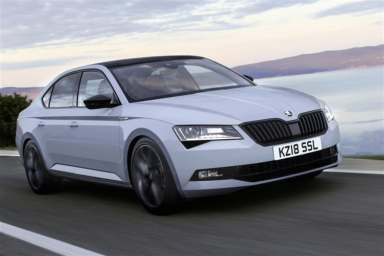Skoda SUPERB 2.0 TDI CR SE L Executive 5dr DSG [7 Speed]