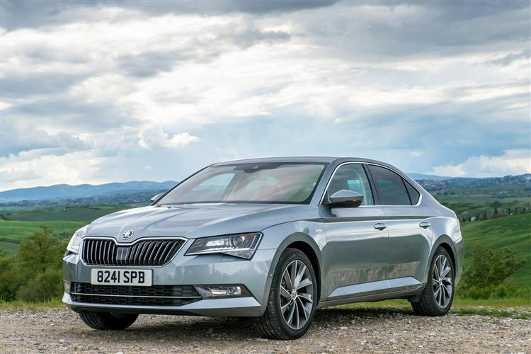 Skoda SUPERB 2.0 TDI CR SE L Executive 5dr