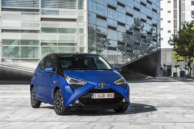 Toyota AYGO 1.0 VVT-i X-Trend TSS 5dr x-shift