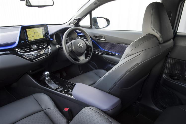toyota c hr hatchback 1 8 hybrid dynamic 5dr cvt leather. Black Bedroom Furniture Sets. Home Design Ideas