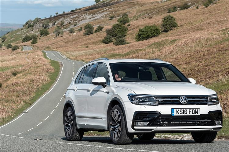 brand new 18 plate volkswagen tiguan 1 4 tsi bmt 125 s 5dr arnold clark. Black Bedroom Furniture Sets. Home Design Ideas