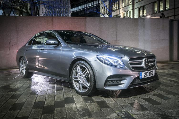 Mercedes Benz E CLASS E220d AMG Line 4dr 9G-Tronic