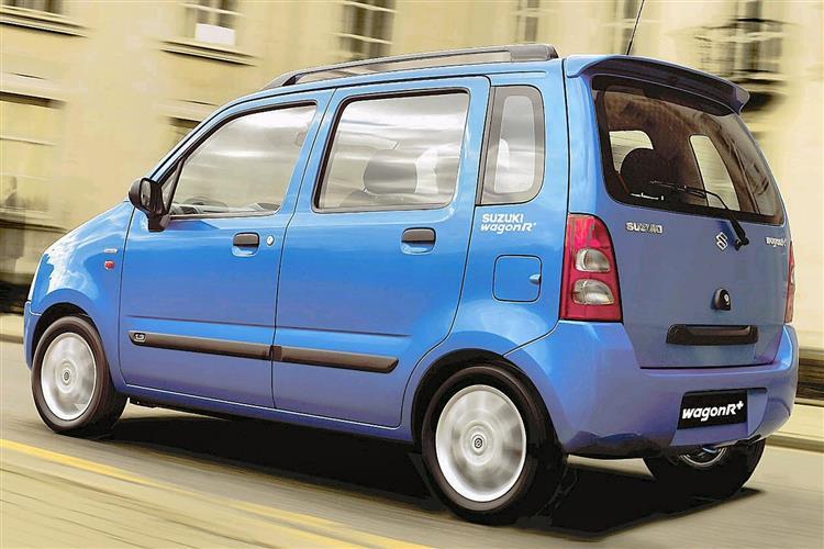 New Suzuki Wagon R+ (2000 - 2008) review