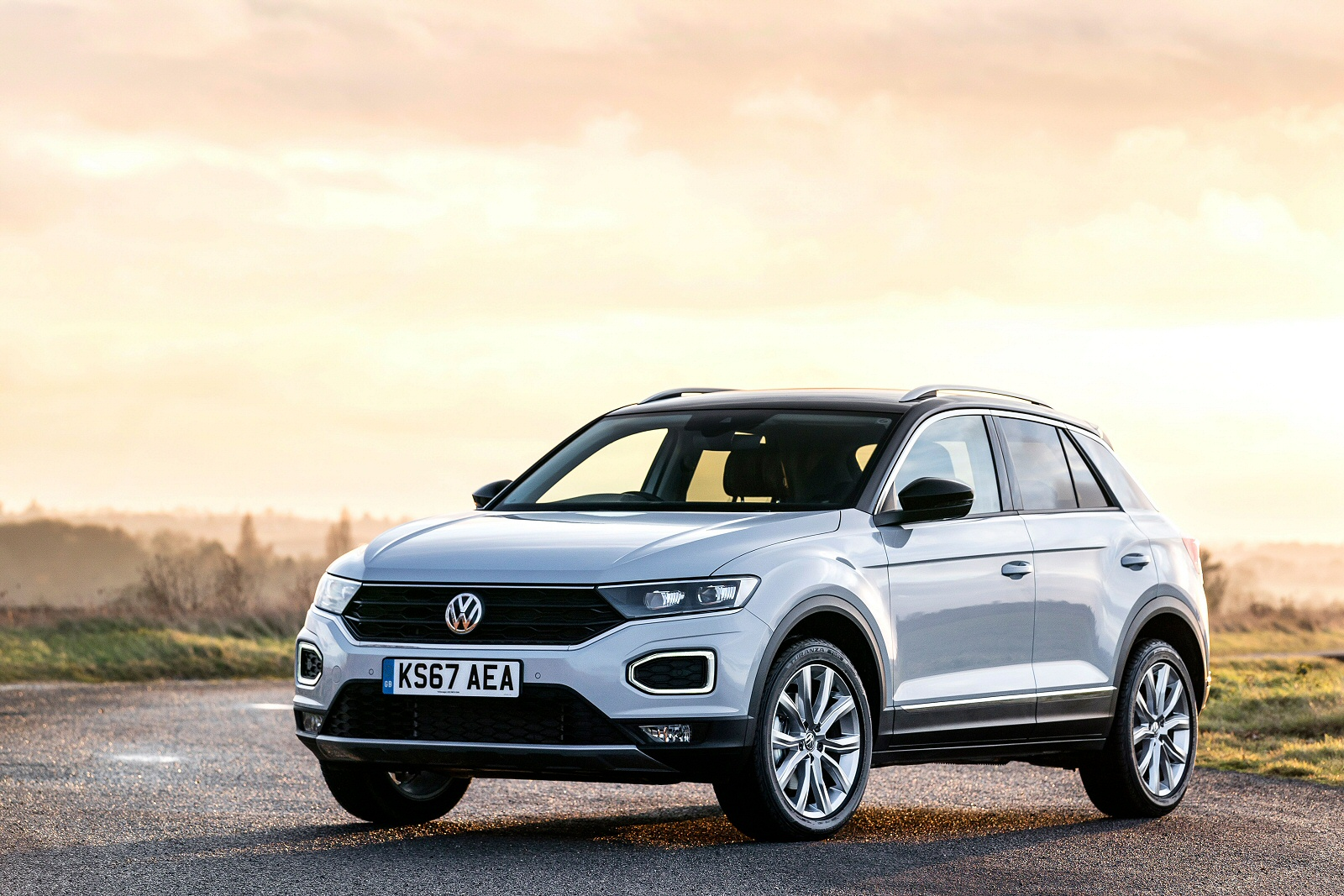 Cheap Personal Contract Hire Lease Volkswagen T-roc Hatchback 1 0 TSI  Design 5Dr