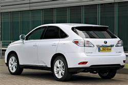 New Lexus RX 450h (2009 - 2012) review