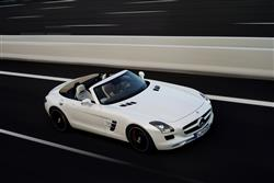 New Mercedes-Benz SLS AMG Roadster (2011-2014) review