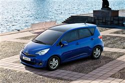 New Toyota Verso-S (2011 - 2013) review