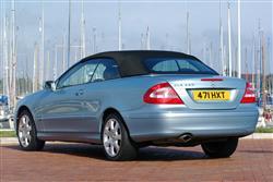 New Mercedes-Benz CLK-Class Cabriolet (2003 - 2010) review