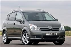 New Toyota Verso (2005 - 2009) review