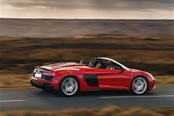 New Audi R8 Spyder review