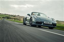 New Porsche 718 Boxster review