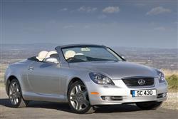 New Lexus SC 430 (2001 - 2009) review