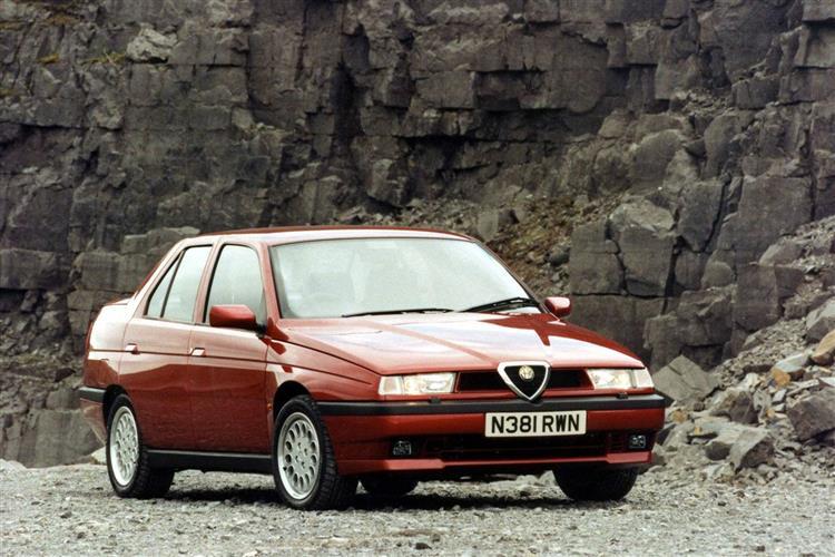 New Alfa Romeo 155 (1992 - 1998) review