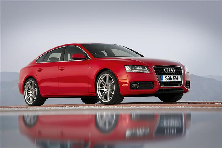 back to the future audi a5 sportback 2010 2012. Black Bedroom Furniture Sets. Home Design Ideas