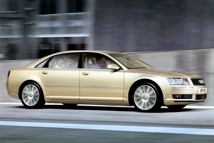 New Audi A8 (2003 - 2010) review