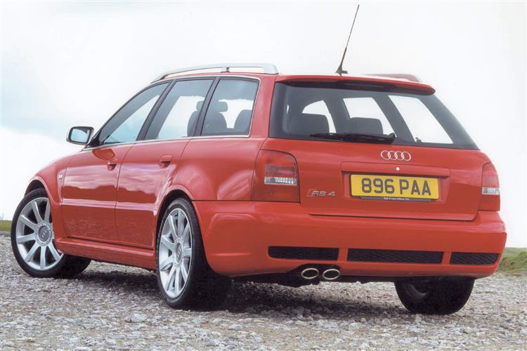 New Audi RS4 (2000 - 2002) review