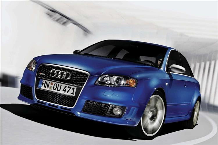 New Audi RS4 (2005 - 2008) review
