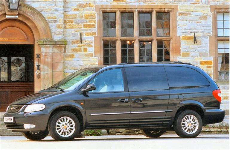 New Chrysler Grand Voyager (1997 - 2001) review