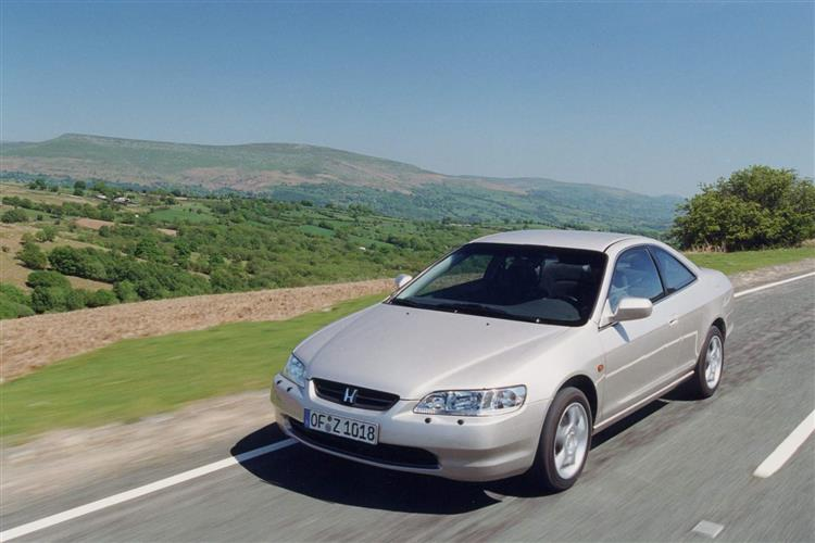New Honda Accord Coupe (1998 - 2001) review