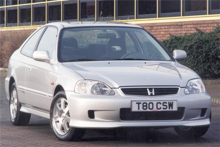 New Honda Civic Coupe (1994 - 2002) review