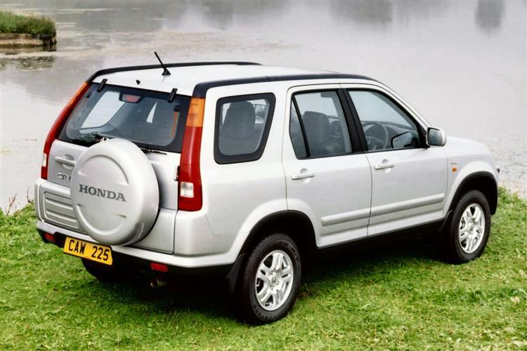 New Honda CR-V (2002 - 2006) review