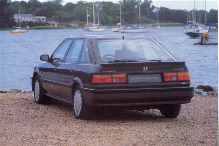 New Honda Concerto (1991 - 1995) review