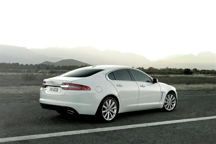 Overall. The Jaguar XF ...