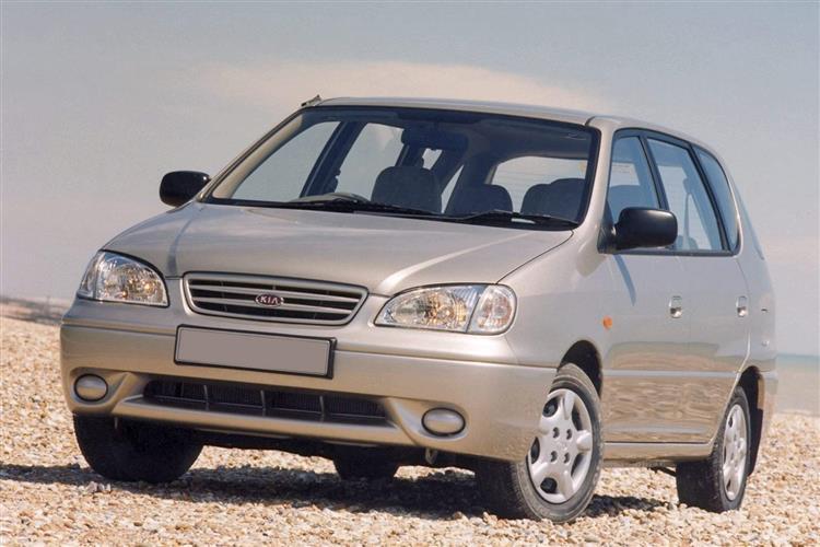 New Kia Carens (2000 - 2006) review