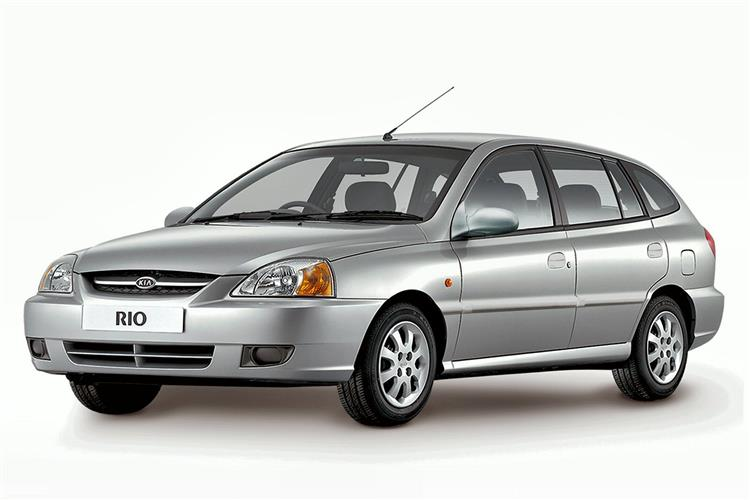 New Kia Rio (2001 - 2005) review