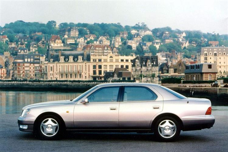 New Lexus LS 400 (1990 - 2000) review