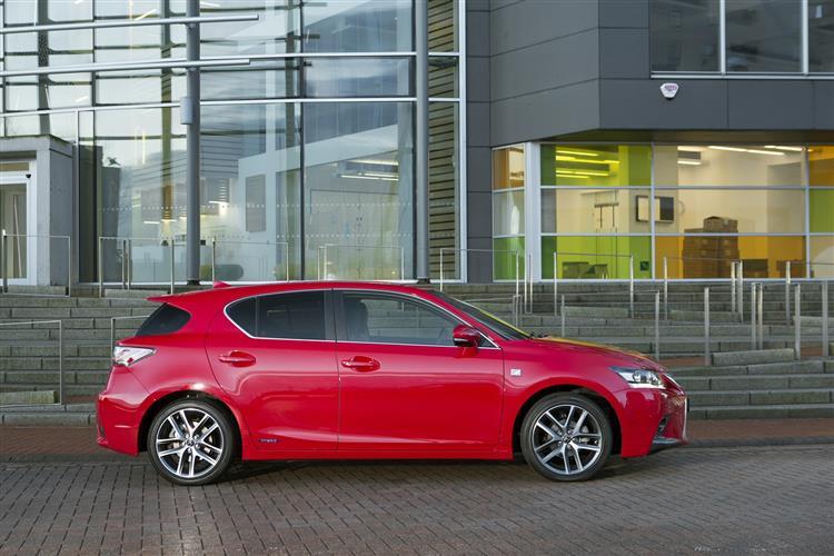 New Lexus CT 200h (2014 - 2017) review