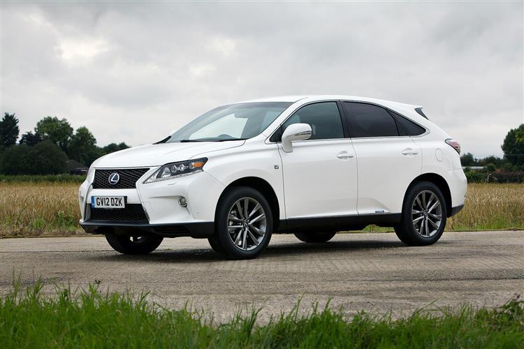 New Lexus RX 450h (2012 - 2015) review