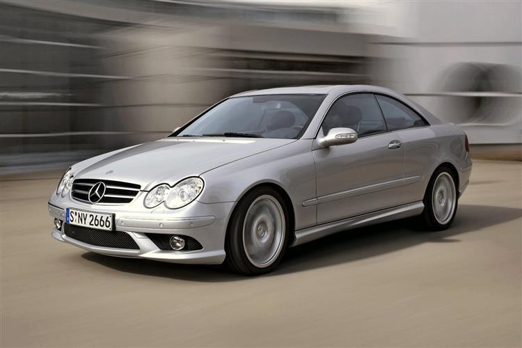 New Mercedes-Benz CLK-Class (2002 - 2009) review