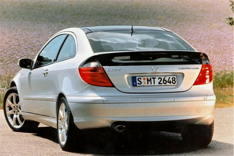 New Mercedes-Benz C-Class Sports Coupe (2001 - 2008) review